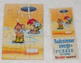 Puzzle - Die Badezimmerzwerge 1991 - UL