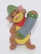 Peppo 1989 - dunkel mit gelb bemaltem Bauch