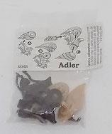 Tiere Nordamerikas 1991 - Adler sitzend - ungebaut + BPZ