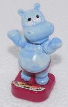 Die Happy Hippos im Fitnessfieber - Hippo mit Waage