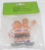 WM 1974 - Tip und Tap - Gummifigur in OVP