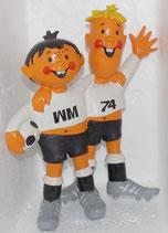 WM 1974 - Tip und Tap - Große Standfigur
