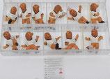 WM 2006 - Goleo - Hartplastikfigurensatz - Stabinger