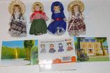 Puppen - Maxi Ei 2002 - Komplett mit Hintergrund BPZ