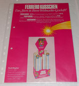 Werbeblatt - Set - Ferrero Küsschen 1975 und 1976