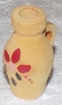 Holz 1977 -  Vase mit Blumen