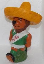 WM 1970 - Willie goes to Mexico - rote Schrift auf der Brust