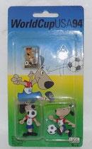WM 1994 - Striker - Figuren/Pin Set - OVP