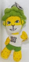 WM 2010 - Zakumi - Stoffanhänger