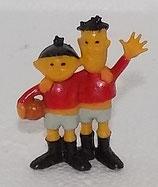 WM 1974 - Tip und Tap - HEIMO - rote Trikots