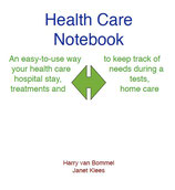 Health Care Notebook  3-ring looseleaf