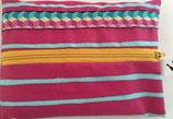 Feuchttücheretui pink/blau Zebra
