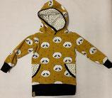 Hoodie Panda Senf