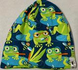Wendebeanie Frog/Croco