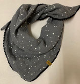 Dreiecksschal Grey