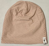 Wendebeanie rosa dots & stripes
