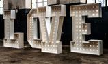 Leuchtbuchstaben XXL