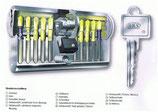BKS Profil-Halbzylinder Serie 88