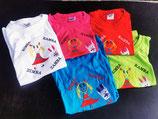 bestickte T-Shirts 4-10 Jahre