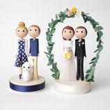 Minis für Verliebte oder auch für die Hochzeitstorte