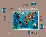 """Puzzle Planisphère SIDHERIA 1000 pièces / Promo """"été 2018"""" = réduction exceptionnelle de 16,5% pour toute commande jusqu'au 1er Septembre2018"""