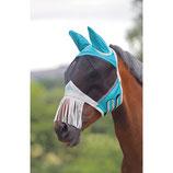 SHIRES - Fliegenmaske  - mit Ohren / Fransen -