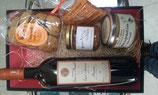 corbeille coffret savoureux directement expédié sur la France métropolitaine (port calculé à adresse de votre choix)