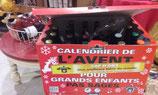 CALENDRIER DE NOEL 22 BIERES+2 VERRES BRASSERIE CAP D ONA