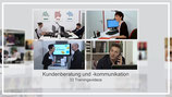 Kundenkommunikation: 33 Trainingsvideos