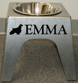 "10"" 1-Bowl Dog Feeder"