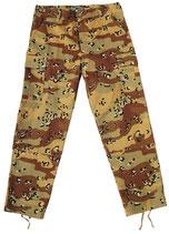 """Army Cargo Hose """"6-color-Desert"""""""