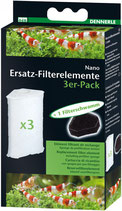 Dennerle Nano FilterElement 3er Pack