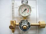 Harris Flaschendruckminderer mit Flowmeter