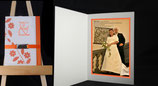 Tarjeta Postal con Collage de Fotos l o Doble Tarjeta con Texto y Fotografia