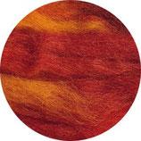 Lontwol herfsttinten rood/geel