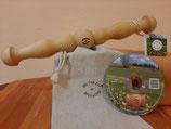 QiMaDu® - Qi Gong - Mobilitätsstab - 3 in Einem mit DVD - Weihnachtsangebot
