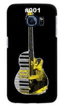 Handy Hard Case Gitarre (schwarz/gelb)