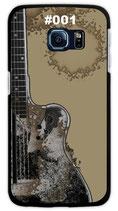 Handy Hard Case Gitarre (schwarz/braun)