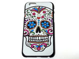 iPhone6・6s用 メキシカンスカル柄 ハードケース