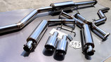 "For  Accord tourer/sedan CAT BACK  Exhaust KIT  ""LOW-END series"" 【TYPE-A】"