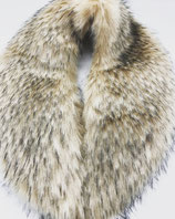 Fake Fur Schal in Natur