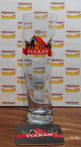Vulkan Bier Glas (0,5l)