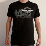 "T-shirt - ""Men On A Mission"""