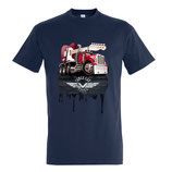 "T-shirt NAVY ""Truck Tales"""