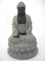 Meditatie Boeddha op lotus - groot