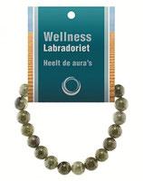 Labradoriet powerbead armband