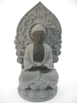Meditatie Boeddha zittend op lotus