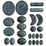 Jade massage set - 24 delig