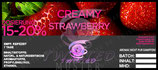 Aroma Twisted Creamy Strawberry 10ml