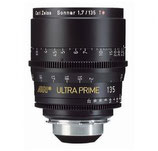Ultra Prime 135mm T1.9 -$200 day /$600 week       / $2,000 per month
